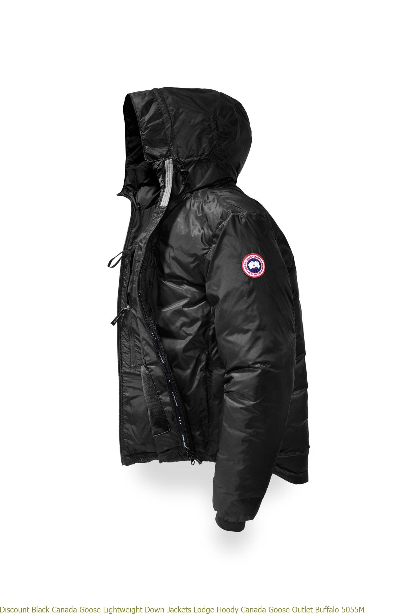 Discount Black Canada Goose Lightweight Down Jackets Lodge