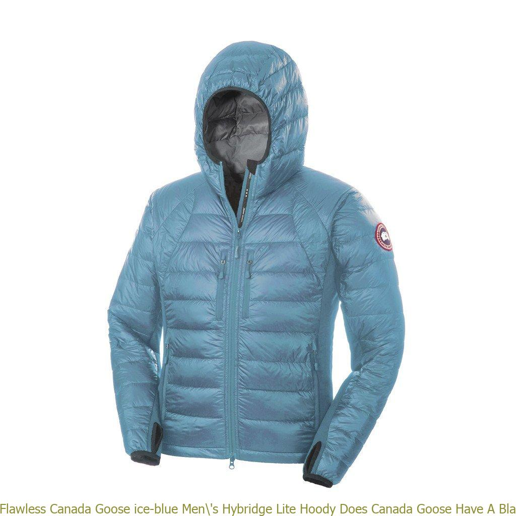 162631b74ee Flawless Canada Goose ice-blue Men\'s Hybridge Lite Hoody Does Canada Goose  Have A Black Friday Sale 101573223